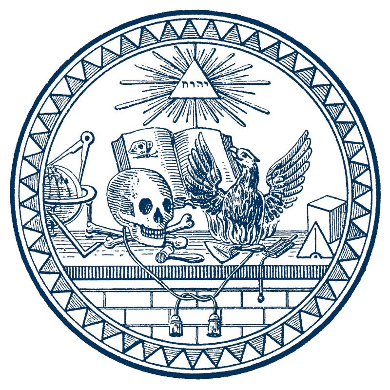 Siegel der Johannisloge Zum Todtenkopf und Phoenix