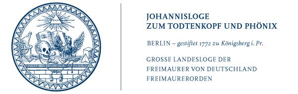 Siegel der Loge Zum Todtenkopf und Phönix Berlin