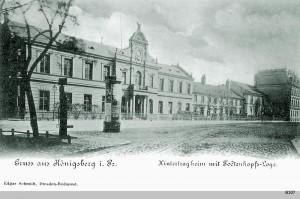 """Das Logenhaus im Hintertragheim der Johannisloge """"Zum Todtenkopf"""""""